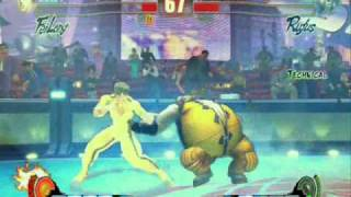 Street Fighter 4 IV PC Gameplay video with Bruce Lee