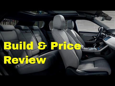 2020 Range Rover Evoque R-Dynamic SE - Build & Price Review: Configurations, Interior, Colors