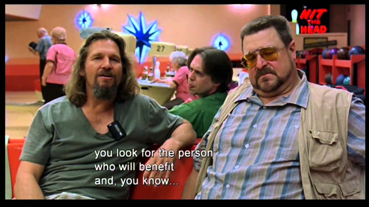 【spoilers】the Big Lebowski Clip 11 Part 2 Quot Life Does Not