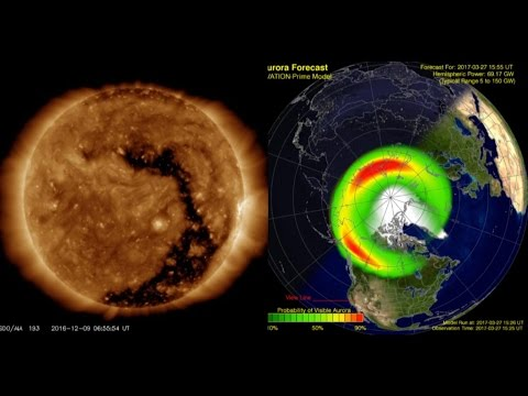 SOLAR ACTIVITY UPDATE: Geomagnetic Storm/Sun Wakes Up! March 28th, 2017.
