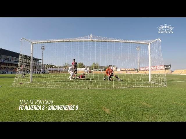 FC Alverca 3 x Sacavenense 0 - Highlights