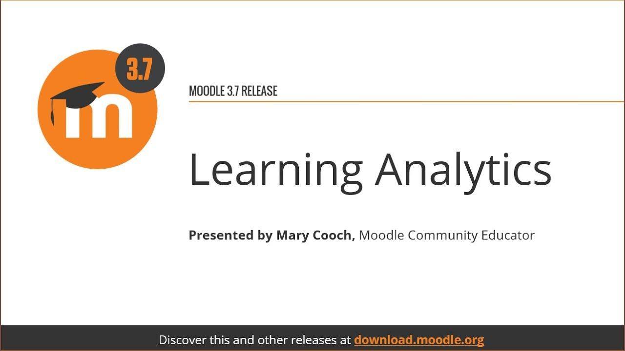 Analytics - MoodleDocs