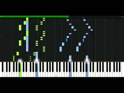 Bangles - Walk Like An Egyptian [Piano Tutorial] Synthesia | passkeypiano