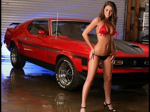 Camaros And Girls Wallpaper Sexy Girls Like Sexy Mustangs 2015 Youtube
