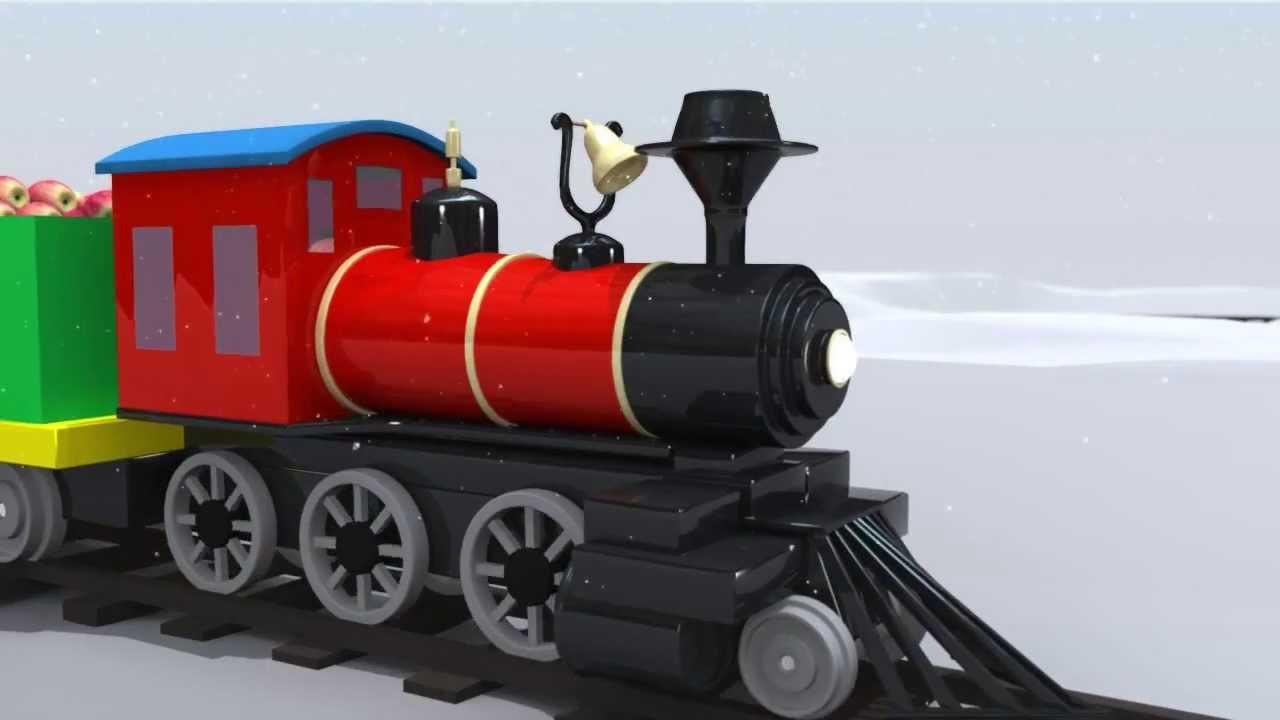 Trains For Children: Little Red Train ABC