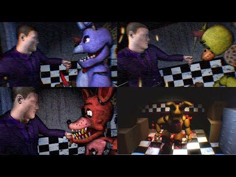 FNAF3 Mini Game Compilation - Animatronic Prospect View (Five Nights at Freddy's) thumbnail