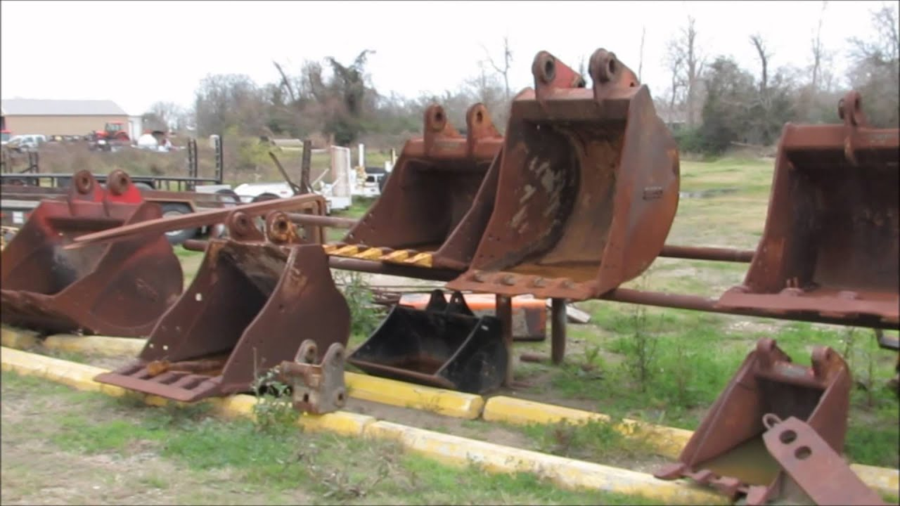 Used Excavator Buckets For Sale