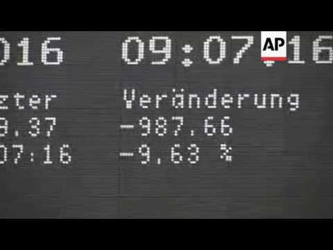 British Leave vote rocks world financial markets