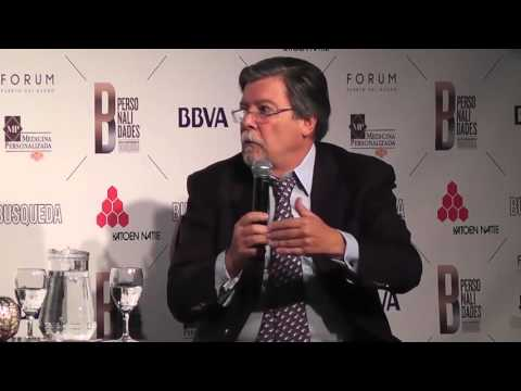 Marcel Granier en el ciclo Personalidades de Búsqueda (Montevideo-Uruguay)