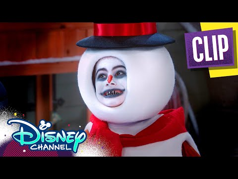 Snow Monster for the Day ⛄| Coop & Cami Ask the World | Disney Channel