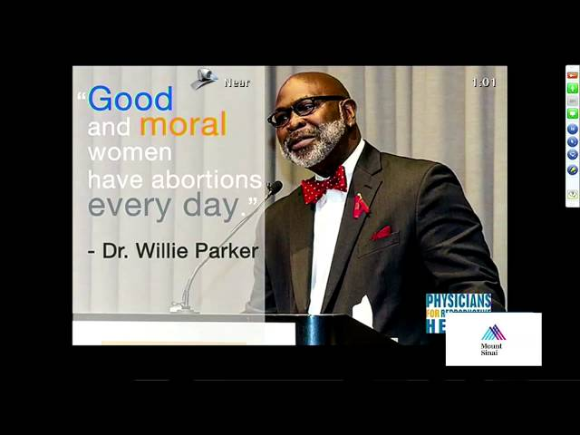 Willie Parker, MD: Going to Mississippi: If I Don't, Who Will? Physician Advocacy in Repro Justice