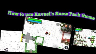 How to Install and USE Ravael's Snow pack Theme!