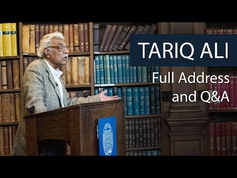 Tariq Ali | Full Address and Q&A | Oxford Union