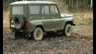 тест-драйв УАЗ 469.