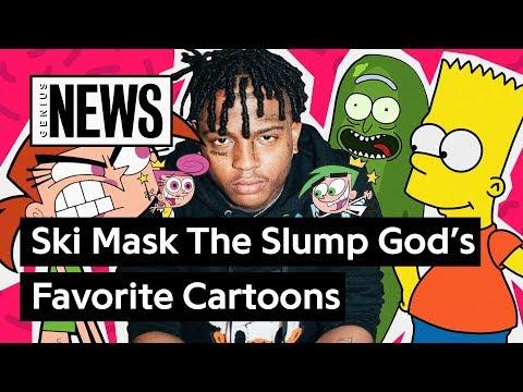 what-are-ski-mask-the-slump-god's-favorite-cartoons-in-his-lyrics?-|-genius-news