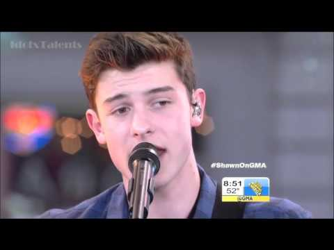 Shawn Mendes -Stitches LIVE on GMA