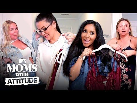 Snooki & JWoww Give Their Nannies Makeovers | Moms with Attitude | MTV thumbnail