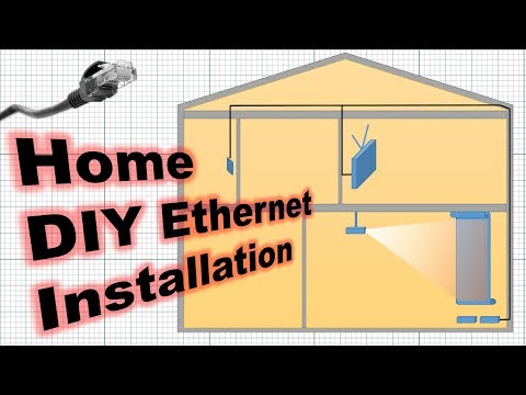Installing Ethernet At Home: 2 Floors, 0 Problems