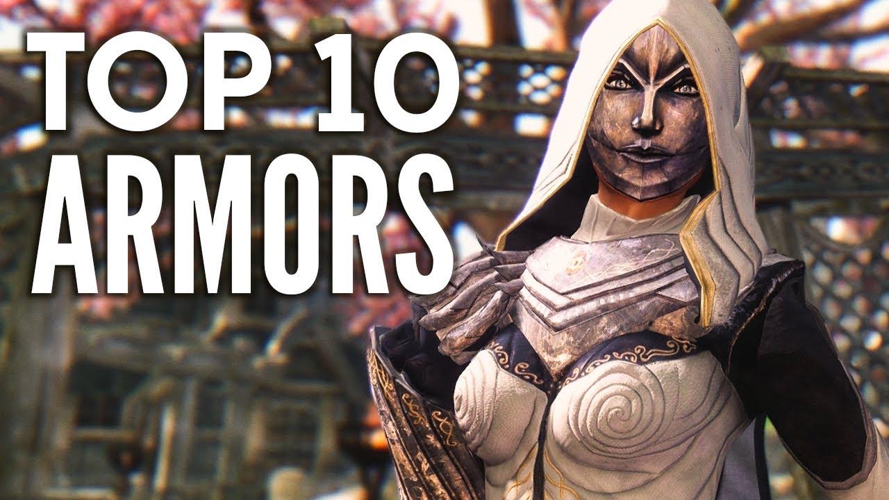 Skyrim Top 10 Armor Mods Youtube