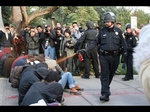UC Davis Pepper Spray Police Report