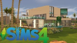 UNE MAISON POUR ALIEN ! - SIMS 4 CONSTRUCTION (SPEED BUILD)