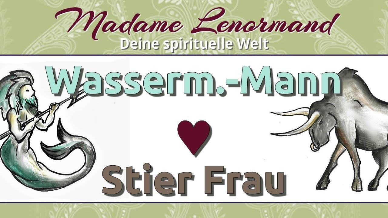 Wassermann Mann & Stier Frau - YouTube
