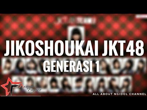 Jikoshoukai JKT48 Generasi 1 w/ lyrics | Asian Figure