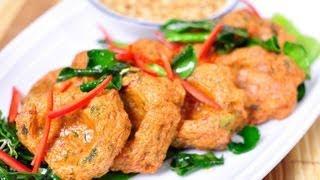 Thai Fish Cake (tod Mun Pla Glai)