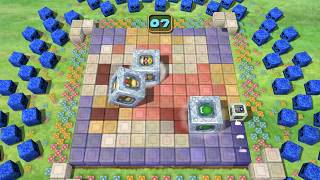 Mario Party 5 minigame: Squared Away 4 player 60fps
