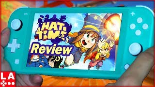 A Hat in Time Nintendo Switch Review (Video Game Video Review)