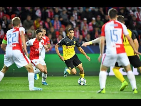 Amazing Goal Achraf Hakimi vs Slavia Prag HD / 2.10.19 / CL
