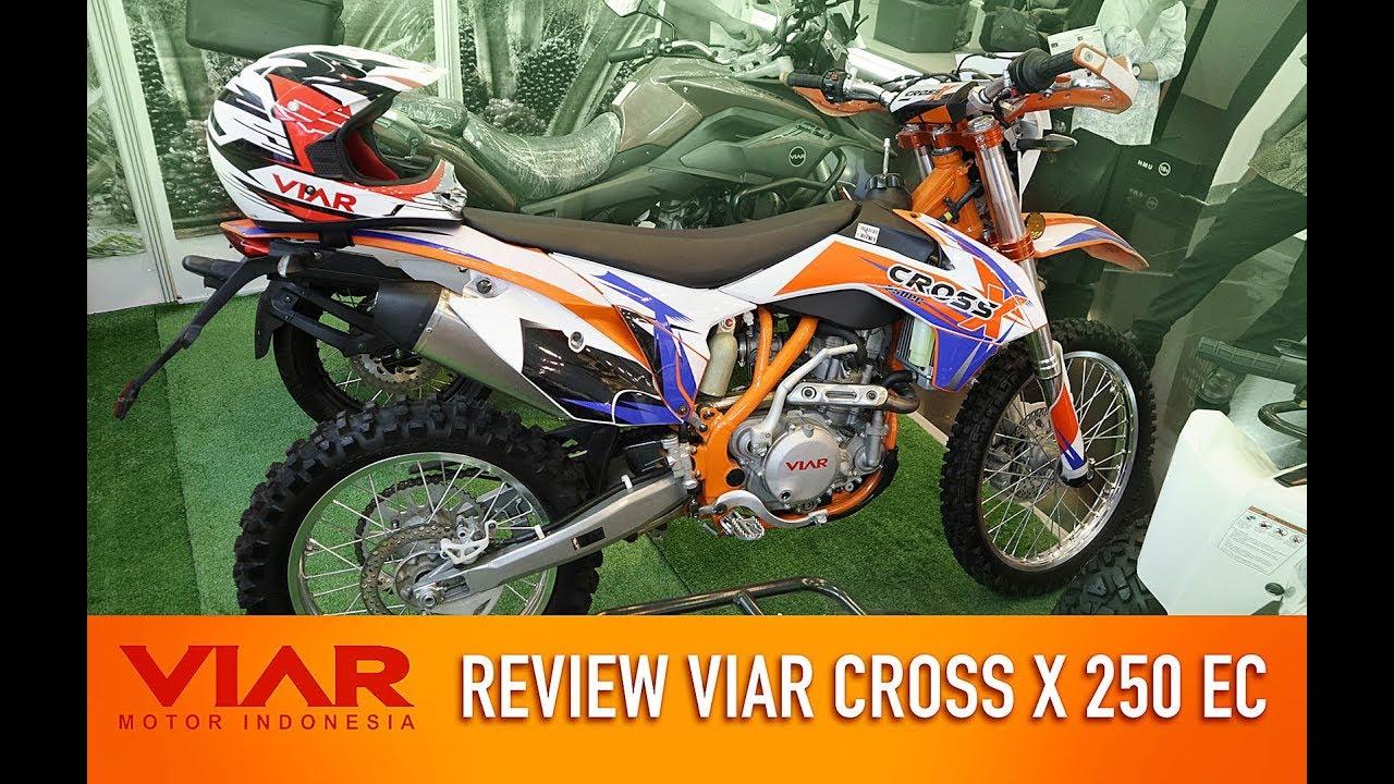 Motor Trail Indonesia Teknologi Tinggi Harga Terjangkau Viar Cross