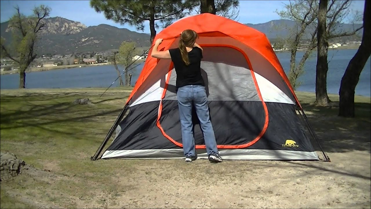 & Big 5 Golden Bear Speed-Up Tent 10u0027 x 10u0027 #HW-Tent-3748 - YouTube