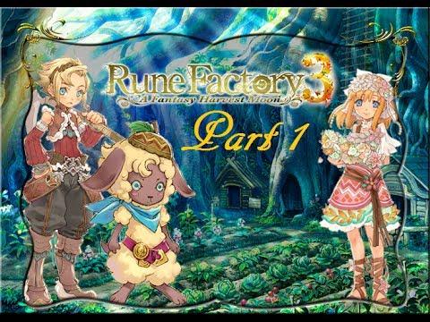 Rune Factory 3 Part 1