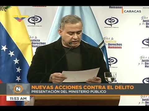 Fiscal venezolano Tarek William Saab sobre 111 kilos de drogas incautados en La Guaira