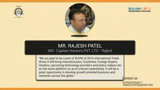 SVUM 2016 International Trade Show @ Rajkot