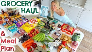 Huge Grocery Haul during Quarantine & Weekly Meal Plan for a Family of 5  |  Emily Norris