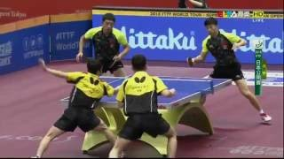 2016 Japan Open (MD-Final) CHUANG Chih-Y./HUANG Sheng-S. - MA Long/XU Xin [HD] [Full Match/Chinese]