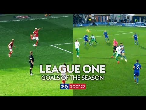 English League One Goals of the Season