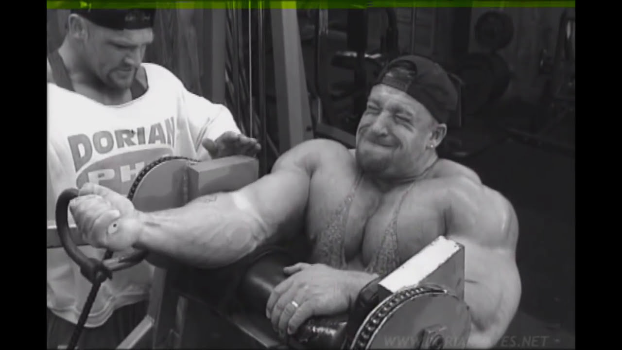 Dorian Yates 1987-1992 Workout Routine Spreadsheet (2020 ...