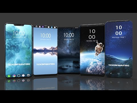 Top Upcoming Flagship Smartphone 2017-2018,Galaxy S9,iPhone 8,Note 8,LG V30,Mi Note 3,Nokia 9