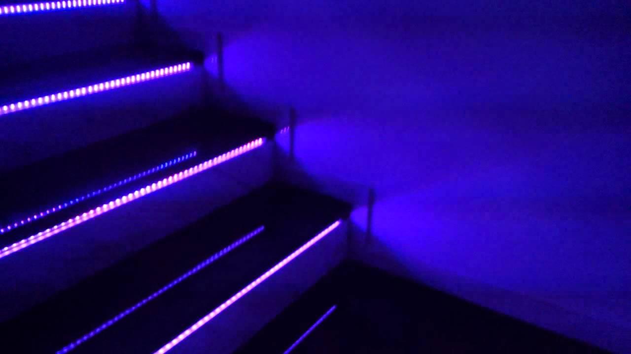 Smart domotik la mia casa domotica.. luci a led scale primo
