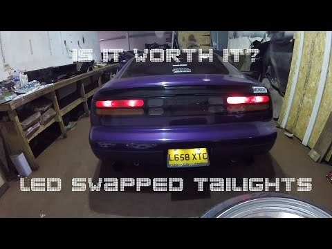 Swapping My 300zx Tail Lights To LEDs. Was It Worth It?