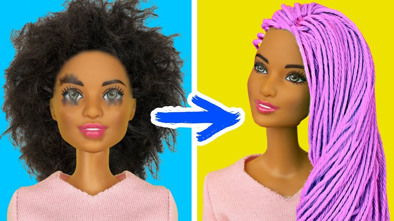 12 Trucos Simples Para Tu Barbie Youtube