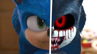 Sonic The Hedgehog Movie Choose Your Favorite Desgin For Both Characters (Werehog.EXE & Sonic)