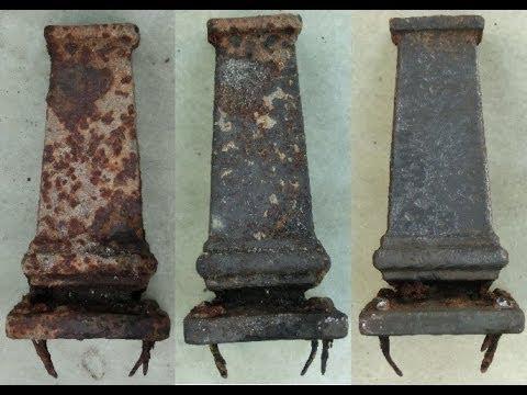 diy easilly remove rust via electrolysis youtube. Black Bedroom Furniture Sets. Home Design Ideas