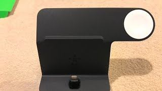 Belkin PowerHouse Dual Apple Watch & iPhone charging stand - Unboxing and test