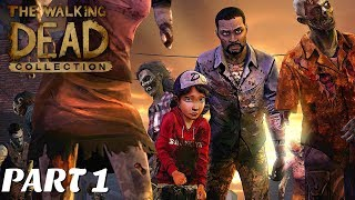 The Walking Dead:Season 1 Remastered Episodes 1-3 - (Walking Dead Collection Episodes 1-3 gameplay)