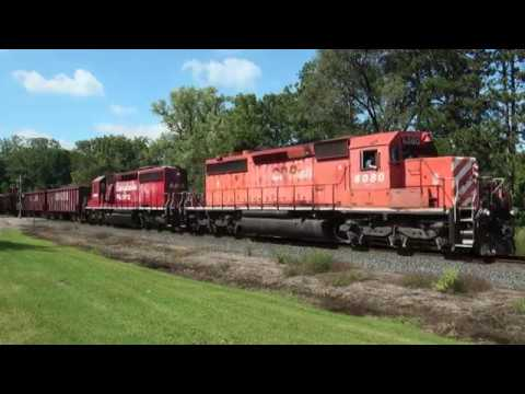 CN 60s and CP 40s on the Withrow Sub