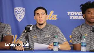 UCLA Players Discuss Being Detained In China, Thank Trump | Los Angeles Times
